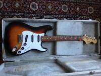 Squier strat upgraded pickups