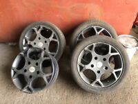 Ford Transit Sport Alloy Wheels ST