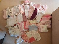 Baby girl clothes 0 mths - 6 mths