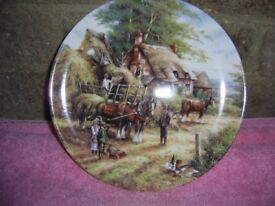 Country Days Plate Limeted Edition