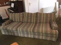 3 seater sofa/suite + 1 chair