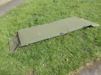 Army camping bed Ideal for camping / festivals ect