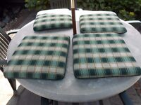 Cushions for garden chairs. Hartman x4.