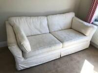 M & S Fabric Sofa