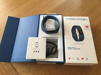 Fitbit Charge 2 Blue Strap Small