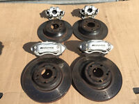 Mercedes AMG Front & Rear Calipers + Pads + Discs