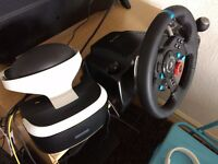 Logitech G29+ PSVR headset!! BARGAIN!!