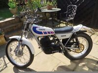 Yamaha TY250 - daylight use only. Good condition for its age, not used since passed MOT August 2013