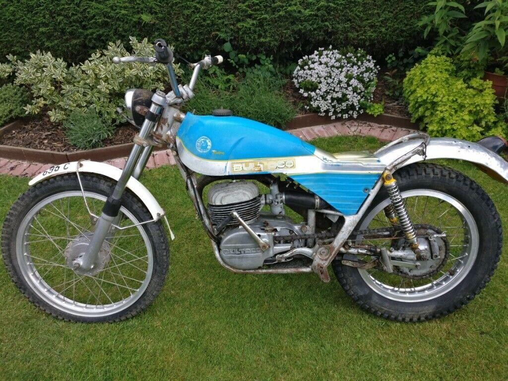 bultaco alpina m85 - includes over £750 of new parts