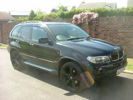 bmw x5 3.0d sport, black with 22in alloys,heated leather panoramic roof