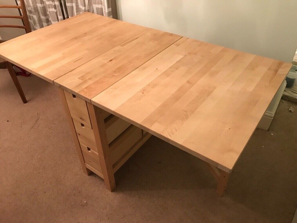 6 Seater Folding Dining Table In