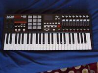 AKAI MPK 49 midi keyboard