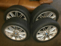 BMW M-Sport Alloy Wheels 17'' with tyres