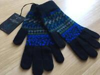 Paul Smith wool gloves bnwt rrp £65