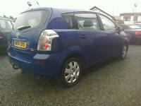 04 Toyota Verso 1.8 7 Seater 5 door blue clean car ( can be viewed inside anytime)