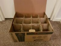 Unused Utopia Glassware Casablanca Cooler - Box of 12 Sizes 17oz
