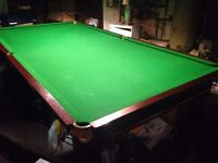 Snooker table - FREE but MUST COLLECT - ASAP