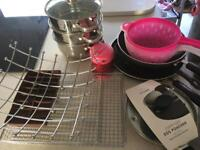 Kitchen items great for 1st home or student