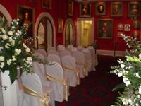 Chair Cover Hire from £1.75 including sashes, delivery and set-up* for Weddings, Parties & Events