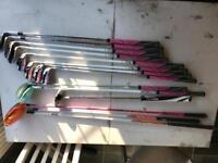 Girls cobra, vokey, benross golf clubs. Full set