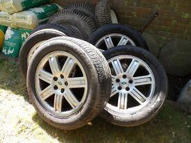"Range Rover L322 Wheels 19"", very good rims"