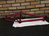 Mafia BMX frame With handle bars