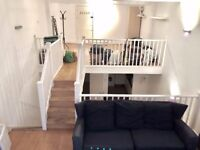 Funky, unique & spacious 2 bed flat, split across 3 floors, 30 seconds from Old Street Station
