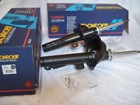 Ford Mondeo Mk2 Brand New Pair Original Monroe Front Shock Absorbers + Bearings + Protection Kits