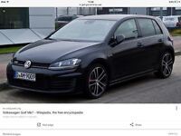 Golf Gtd Mk7 2013 onwards wanted