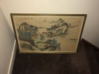 Japanese watercolour on silk