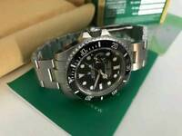Rolex Submariner Date Black Dial Brushed Stainless steel