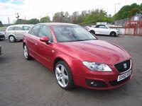 Seat Exeo 2.0 TDi Diesel Sport. Based on Audi A4. Only 63000 miles.