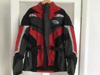 Motorbike jacket.