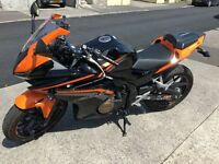 Honda CBR500r - Black and Orange