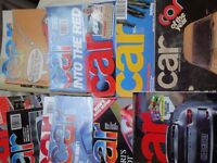 CAR MAGAZINE 30 YRS WORTH - LARGE COLLECTION IN GOOD CONDITION