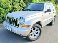 2007 JEEP CHEROKEE AUTO *93,000 MILES* LEATHER* 2.8 CRD AUTOMATIC LIMITED GRAND 2.5 2.7