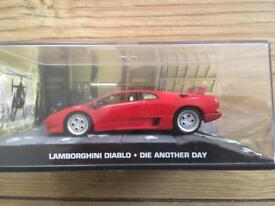 1:43 Lamborghini Diablo - JAMES BOND COLLECTION - Die Another Day - FABBRI