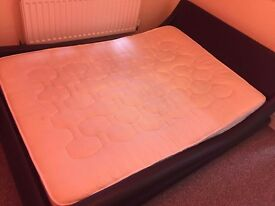 Double bed used