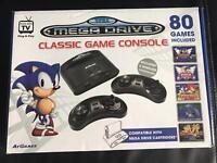 Sega mega drive classic games console 80 build in games (not working)