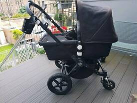 Bugaboo Cameleon 3 All Black Edition pram / buggy