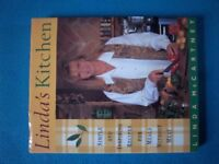 Linda McCartney Linda's Kitchen Vegetarian Recipe Cook Book IP1