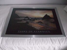 "FRAMED PRINT ""TIDES OF ETERNITY"""