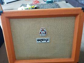 Orange ppc112 guitar amplifier cabinet