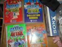 match attax cards in folder