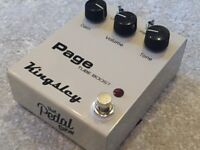 KINGSLEY PAGE VALVE DRIVE DISTORTION BOOST; special Pedal Show edition