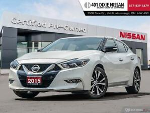 2016 Nissan Maxima 3.5 SV|NAVI|BACKUP CAM|LEATHER|SUNROOF|KEYLESS