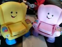 2 music play chairs seata