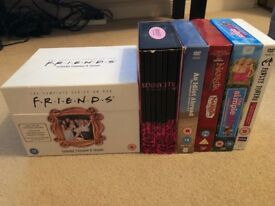 Friends, sex&the city, simple life, Narnia, idiot abroad & Fawlty towers boxset bundle DVD's