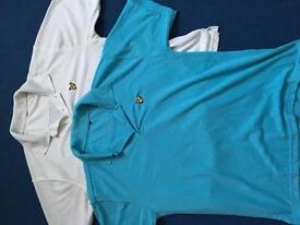 2 men's polo shirts in size xl