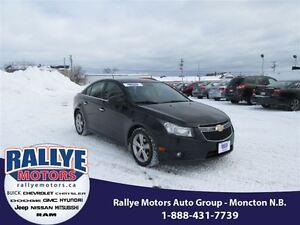 2012 Chevrolet Cruze LTZ Turbo! NEW TIRES! Heated! Leather! Allo